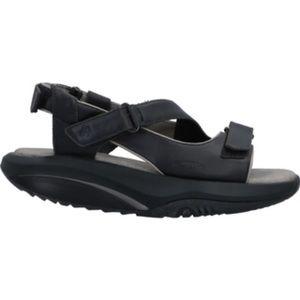 MBT Shoes - MBT Black Leather Strappy Sandals US 6 EUC